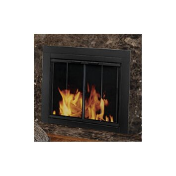 Pleasant Hearth Ascot Fireplace Screen And Bi Fold Track
