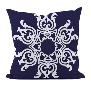 e by design Floral Motifs Throw Pillow