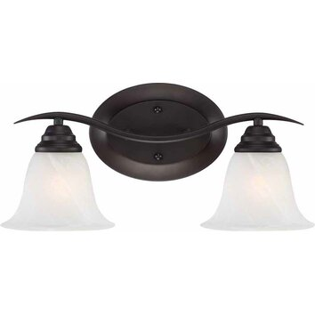 Volume Lighting Trinidad 2 Light Bathroom Vanity Light & Reviews Wayfair