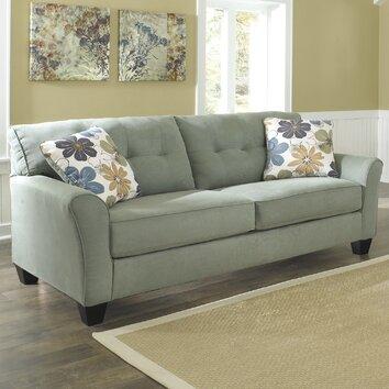 Signature design by ashley sanford sofa reviews wayfair for Ashley sanford chaise