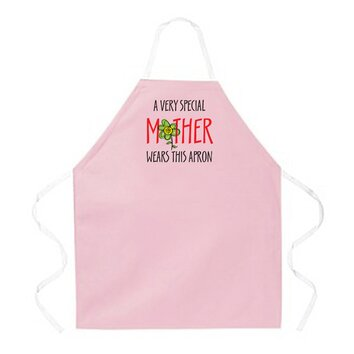 Special mother pink apron 2249