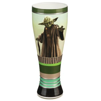 Vandor star wars yoda 20 oz hand painted glass reviews for Chaise yoda