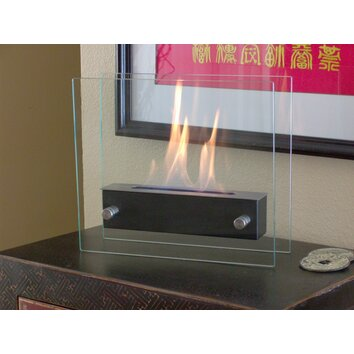 nu flame irradia tabletop bio ethanol fuel fireplace