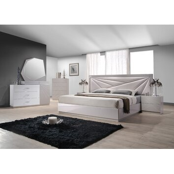 j m furniture florence panel customizable bedroom set