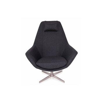 Modani bernard lounge chair reviews wayfair for Bernard chaise lounge