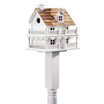Plow & Hearth Cape Cod Mounted Birdhouse