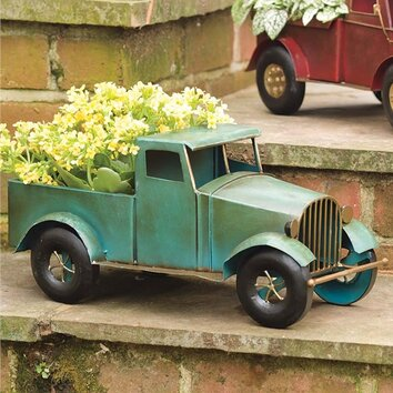 Vintage Novelty Truck Planter