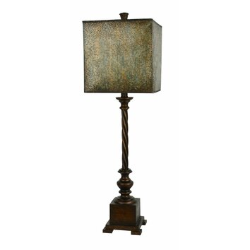 Forty West Scott 34 Quot H Lamp With Square Shade Amp Reviews