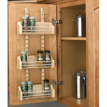 the best kitchen cabinet organizers use every space available including the back of doors
