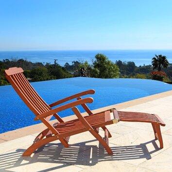 Vifah Steamer Lounge Chair Amp Reviews Wayfair