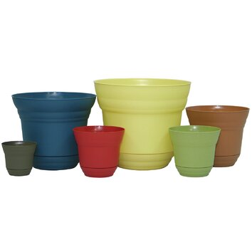 Varick Gallery Traverse Round Planter