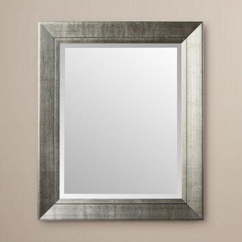 Wade logan redhill large wall mirror reviews wayfair - Large bathroom wall mirror ...