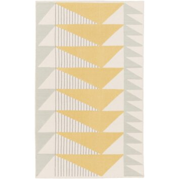 Langley Street Renata Gold/Gray Area Rug