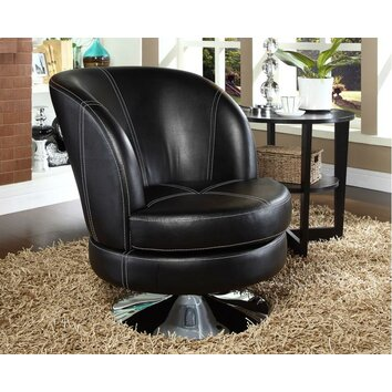 Nspire Swivel Bucket Style Accent Chair Amp Reviews Wayfair