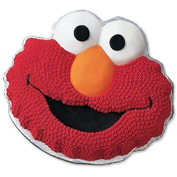 Elmo Face Novelty Cake Pan  Wayfair