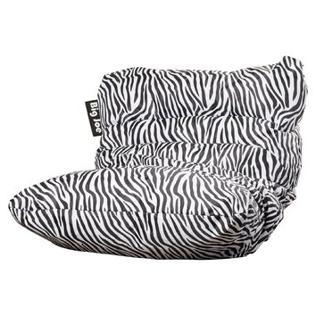 House Of Hampton Big Joe Allura Zebra Bean Bag Chair