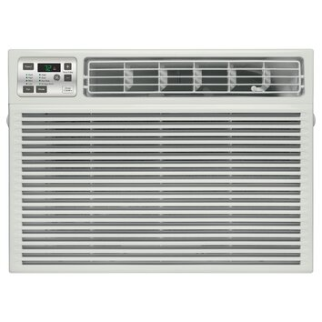 General Electric 8000 BTU Energy Star Window Air Conditioner with Remote - Chassis type: Slide-out Airflow (cfm) roomside (hi / low): 270 / 240 Filter type: Slide-out Louver style: 4-Way adjustable Mounting type: EZ Mount