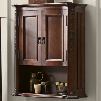 Ronbow Bordeaux Bathroom Wall Cabinet In Colonial Cherry Reviews Wayfair Supply