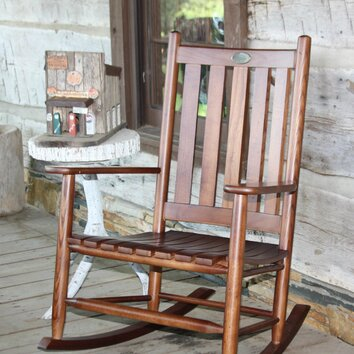 Dixie seating company bob timberlake the lodge rocking chair 5frbt x