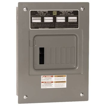 100 Amp Manual Transfer Switch with Main Lug Load Center