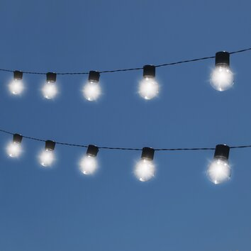Outdoor String Lights Wayfair : Touch of ECO Nitebulbs 10 Light String Lighting & Reviews Wayfair