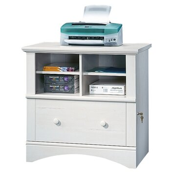 Sauder Harbor View 1 Drawer File Cabinet amp Reviews