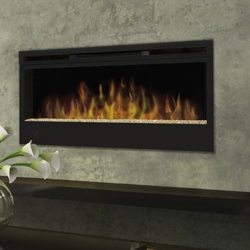 Dimplex Synergy Wall Mounted Electric Fireplace & Reviews