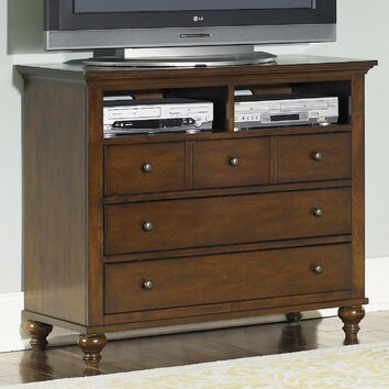 Liberty furniture hamilton 5 drawer media chest reviews for I furniture hamilton