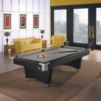 Brunswick billiards boca billiards 8 39 pool table reviews wayfair - Billard table a manger ...