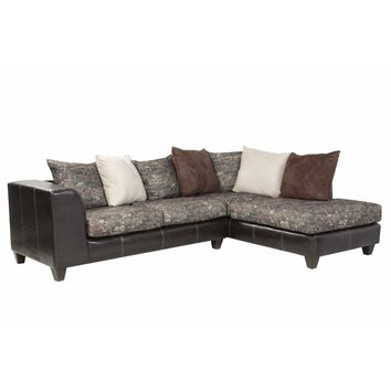American furniture classics right hand facing sectional for Camo chaise lounge