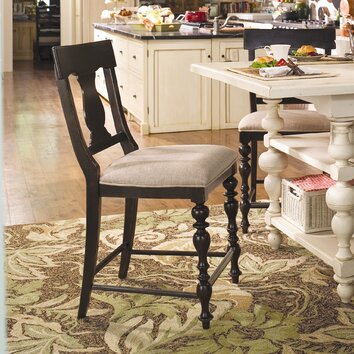 Paula Deen Home Sweet Tea 24 Bar Stool With Cushion