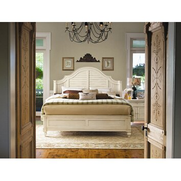 paula deen home steel magnolia panel customizable bedroom 16631 | paula deen home steel magnolia panel bedroom collection 9962