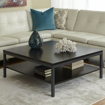 Jesper Office Square Coffee Table with Shelf & Reviews | Wayfair