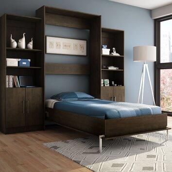 Stellar Home Milo Twin Wall Bed Reviews Wayfair