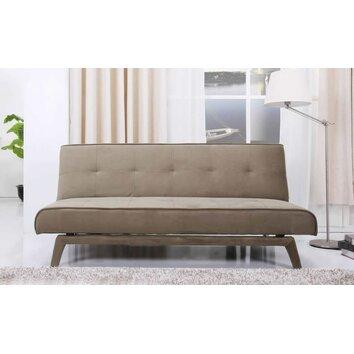 Abbyson Living Alexandra Convertible Sleeper Sofa In Olive