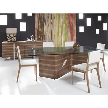 Bellini Modern Living Dakota Dining Table Reviews Wayfair