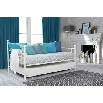 Charlton Home Daybed with Trundle