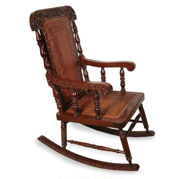 Novica nobility rocking chair 86556