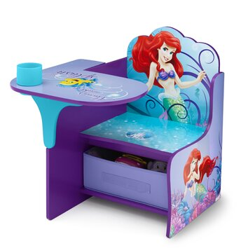 Delta children little mermaid kid desk chair reviews for Ariel chaise lounge