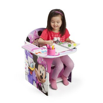 Delta children minnie kid desk chair tc85663mn