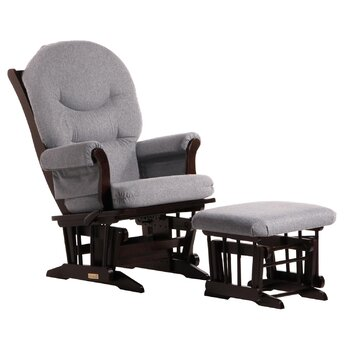 Dutailier ultramotion sleigh multiposition recline glider for Chaise dutailier