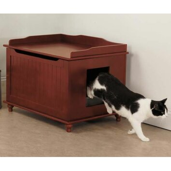 Meow Town Meow Town Litter Box Reviews Wayfair