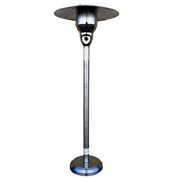 az patio heaters natural gas patio heater reviews wayfair