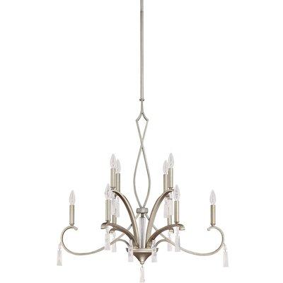 Elan 10 Light Chandelier by Capital Lighting