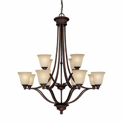 Belmont 12 Light Chandelier Product Photo