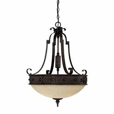 Capital Lighting River Crest 3 Light Inverted Pendant