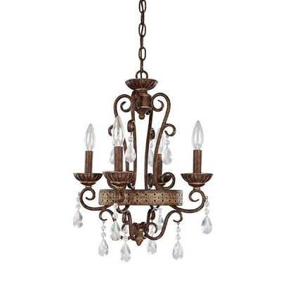 4 Light Chandelier by Capital Lighting