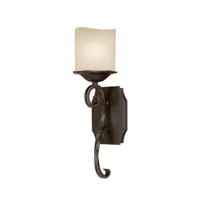 Capital Lighting Montana 1 Light Wall Sconce in Raw Umber