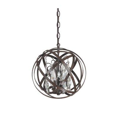 Orpheus 3 Light Globe Pendant Product Photo