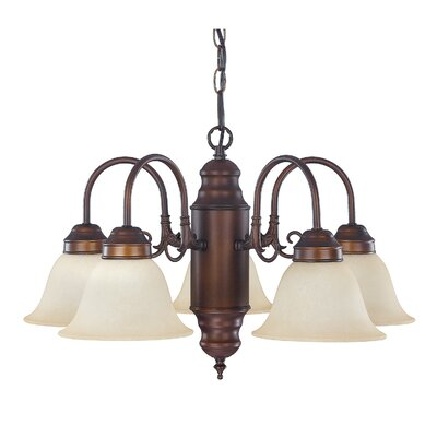 5 Light Chandelier Product Photo